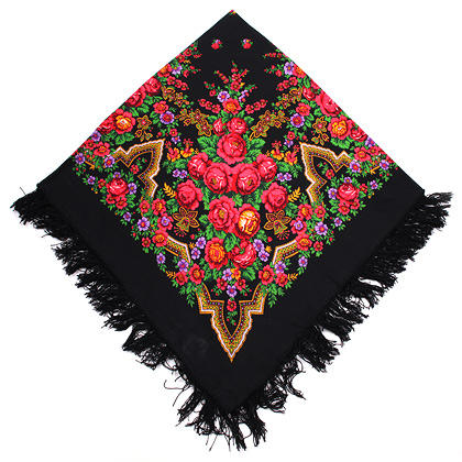"Russian shawl ""Russian beauty 325-18"""