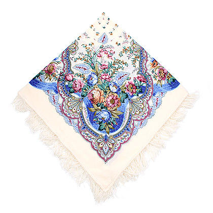 "Russian shawl ""Joy 678-4"""