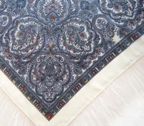 "Russian shawl ""Russian gold 529-5"""