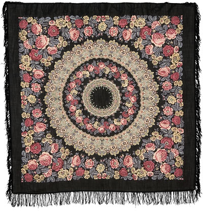 "Russian shawl ""Prayer 353-20"""