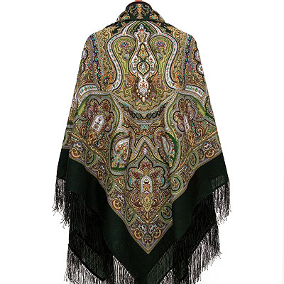 "Russian shawl ""Spanish 710-10"""