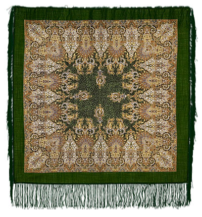 "Russian shawl ""Garden of Sira 855-10"""