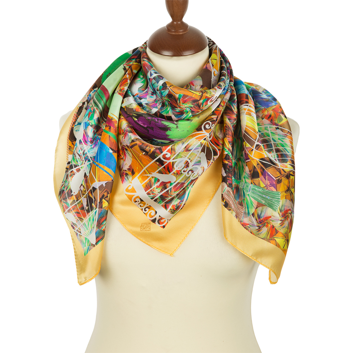 "Russian scarf ""10101-2"""