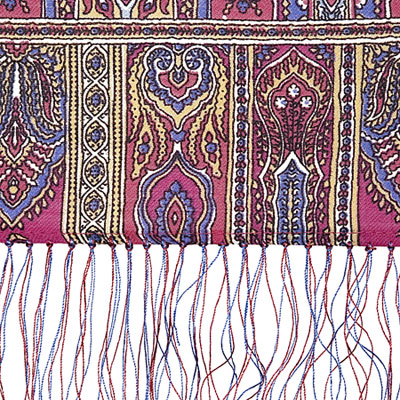 "Russian scarf ""Royal 1159-52"""