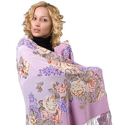"Russian shawl ""Flavor of Love 1378-2"""