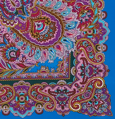 "Russian shawl ""East sweets 1429-13"""