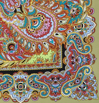 "Russian shawl ""East sweets 1429-2"""