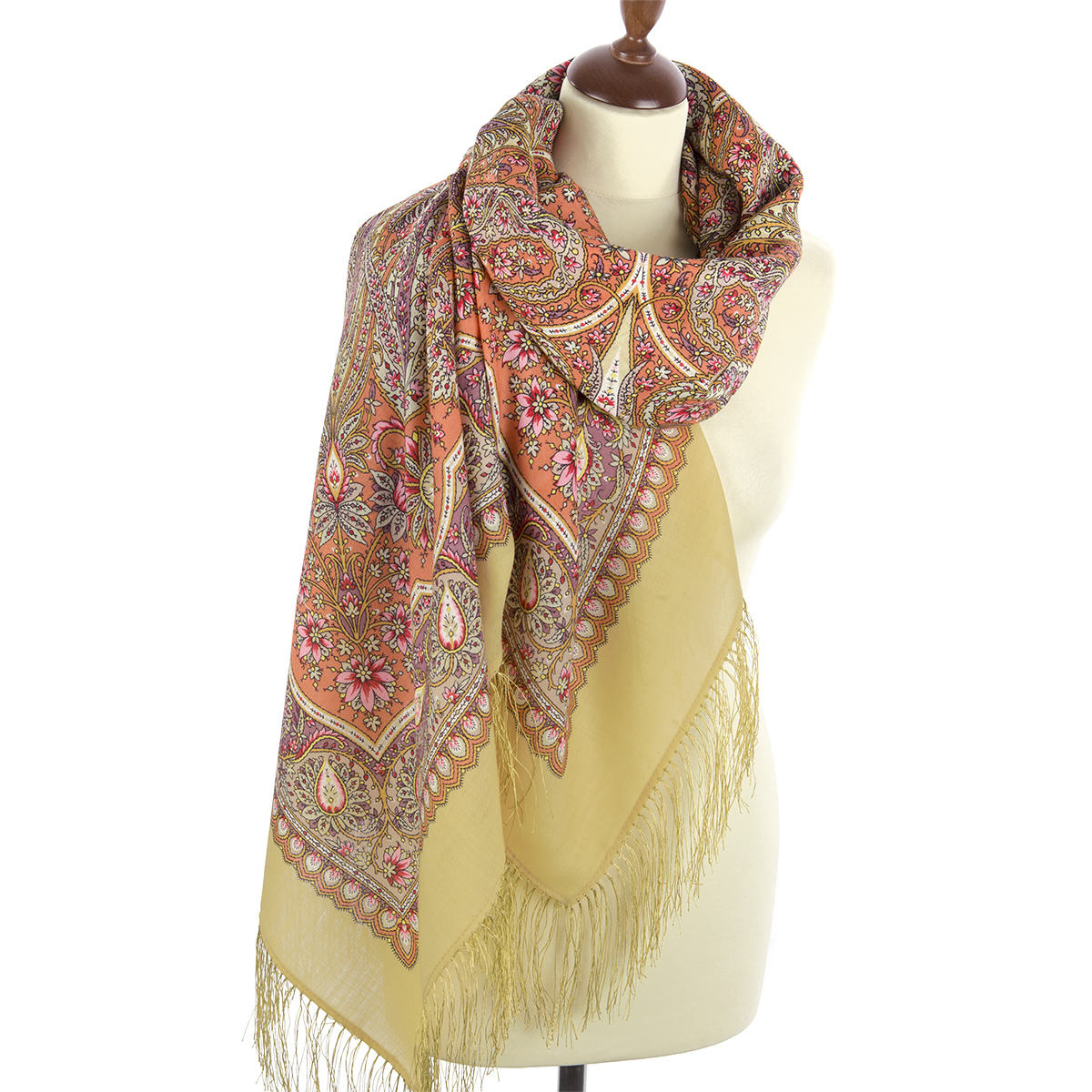 "Russian shawl ""Ginger 1496-2"""