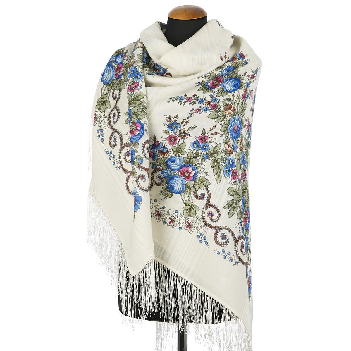 "Russian shawl ""Morning glory 1561-4"""
