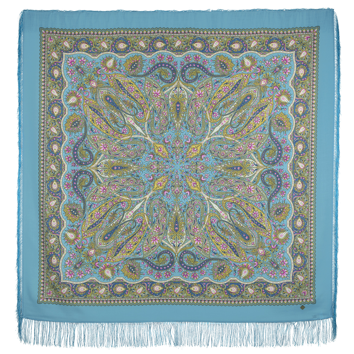 "Russian shawl ""Ginger 1496-13"""