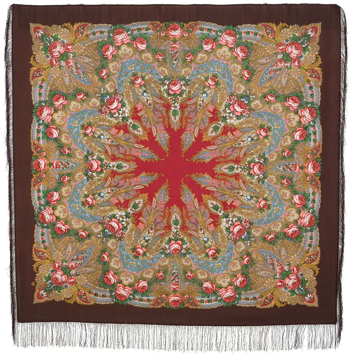 "Russian shawl ""Crimea 1542-17"""