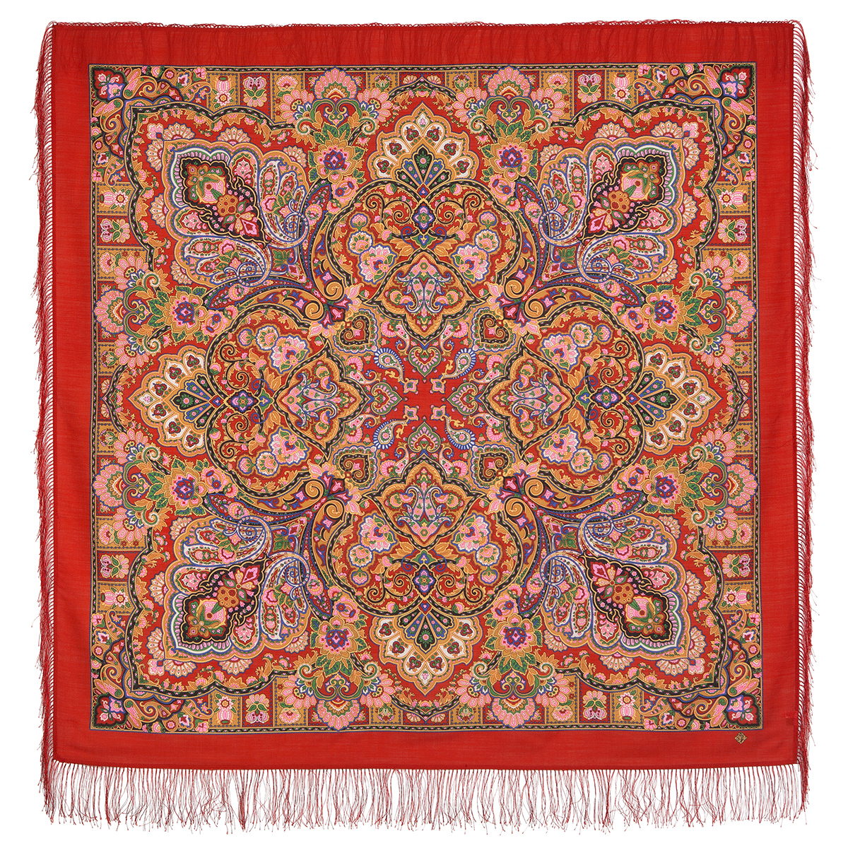 "Russian shawl ""Queen of beauty 1686-5"""