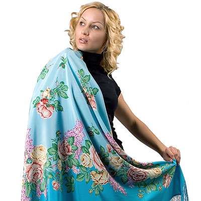 "Russian shawl ""Flavor of Love 1378-11"""