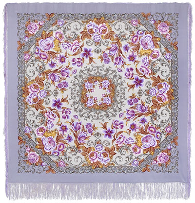 "Russian shawl ""Royal ball 1470-1"""