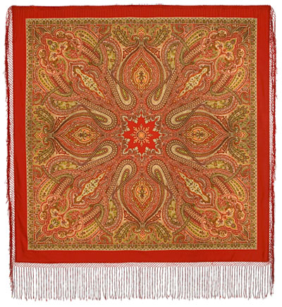 """Russian shawl """"Mysterious Evening 1539-4"""""""