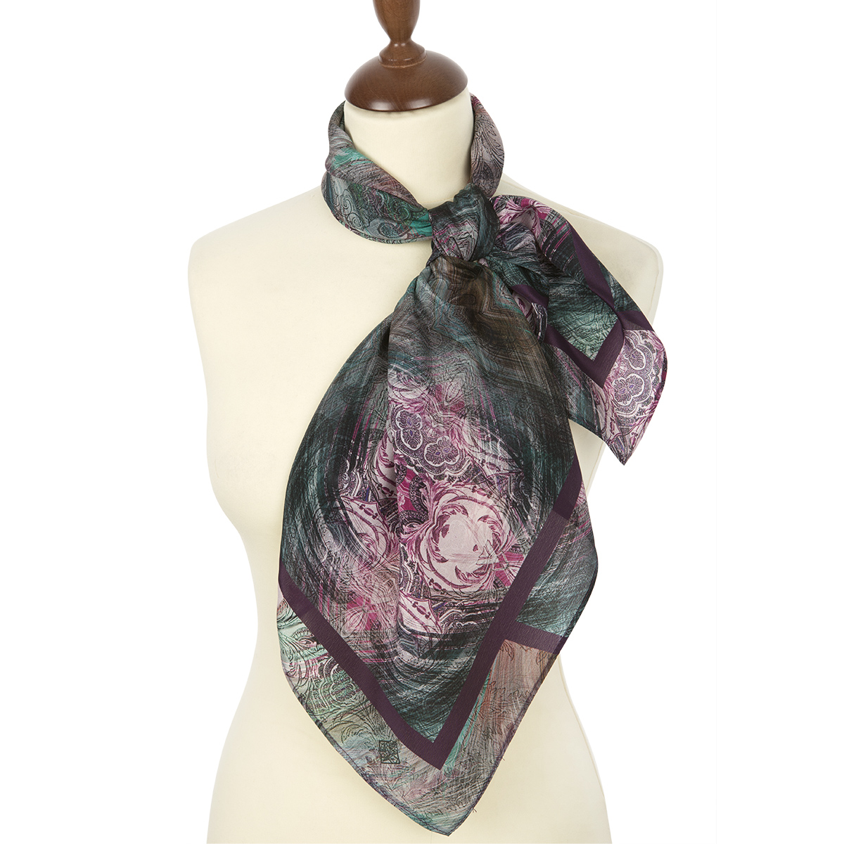 "Russian scarf ""Ornamental 10094-1"""