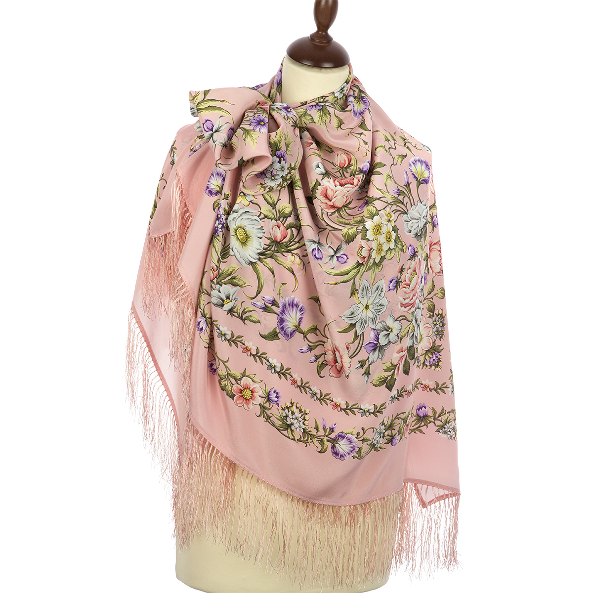 "Russian shawl ""Blooming spring 1562-3"""
