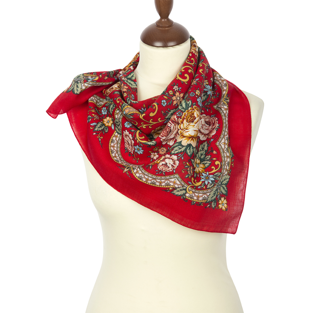 "Russian shawl ""Bright Hope 1658-5"""