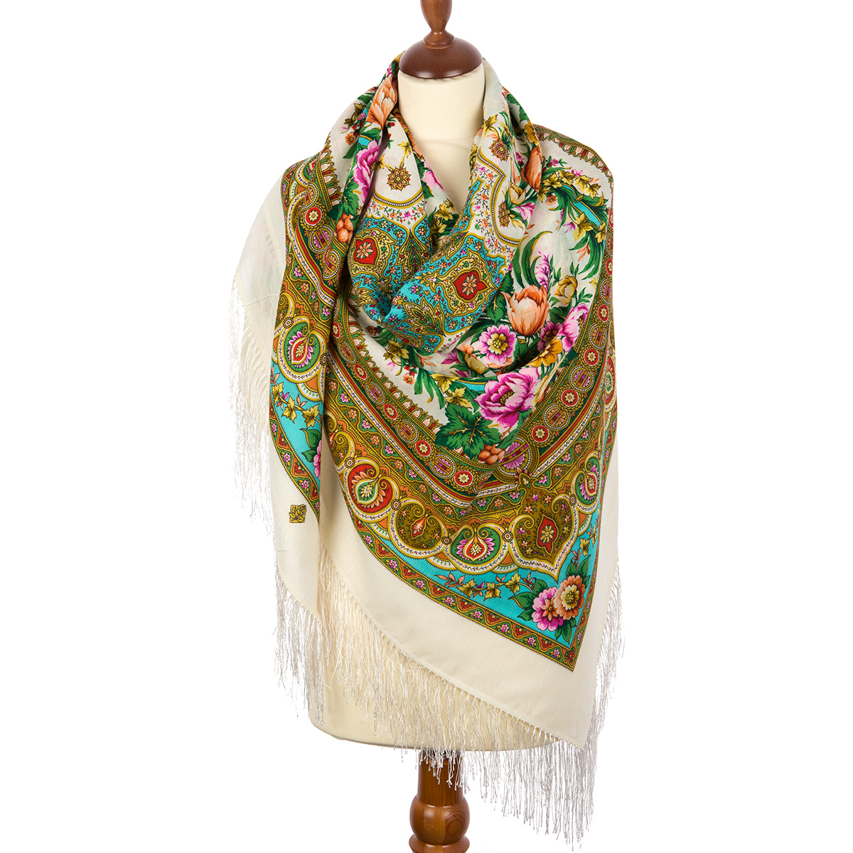 """Russian shawl """"Words of love 1688-2"""""""