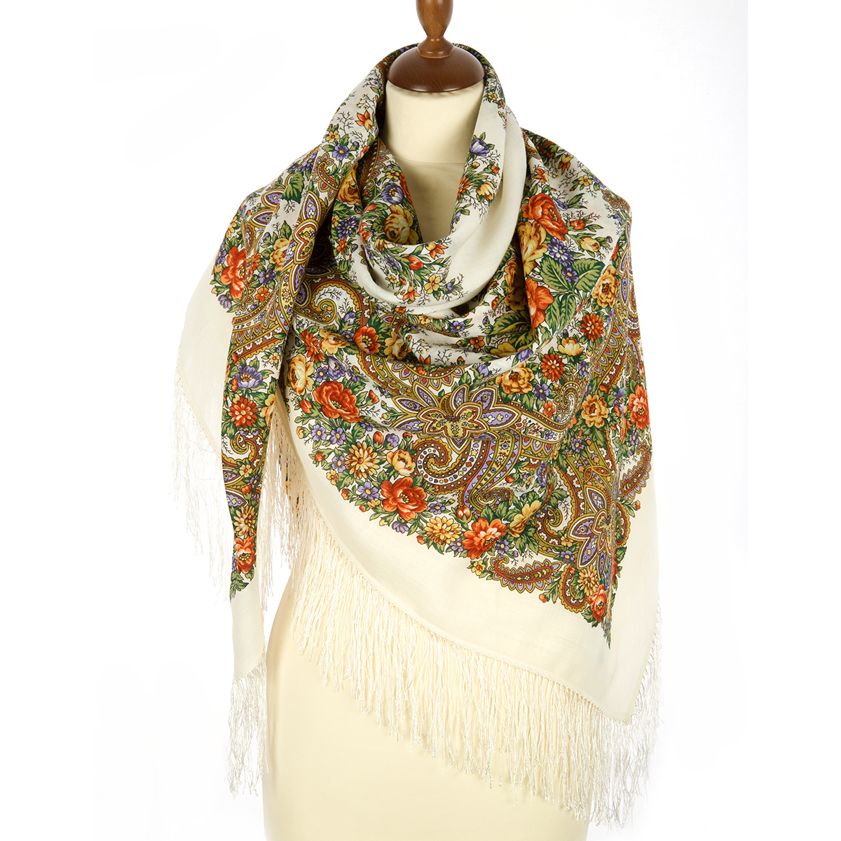 "Russian shawl ""Lyra 1720-1"""
