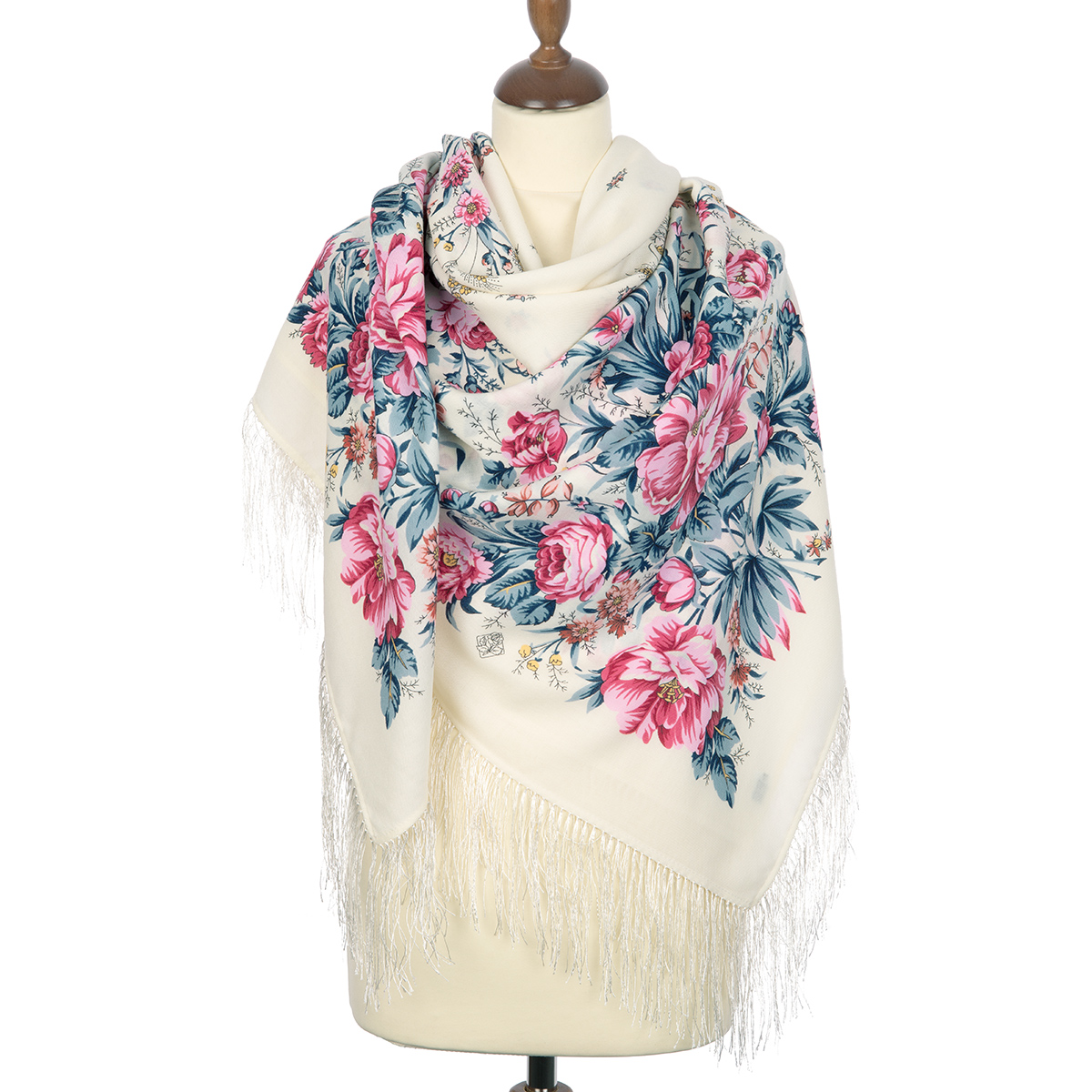 "Russian shawl ""Morning garden 363-3"""