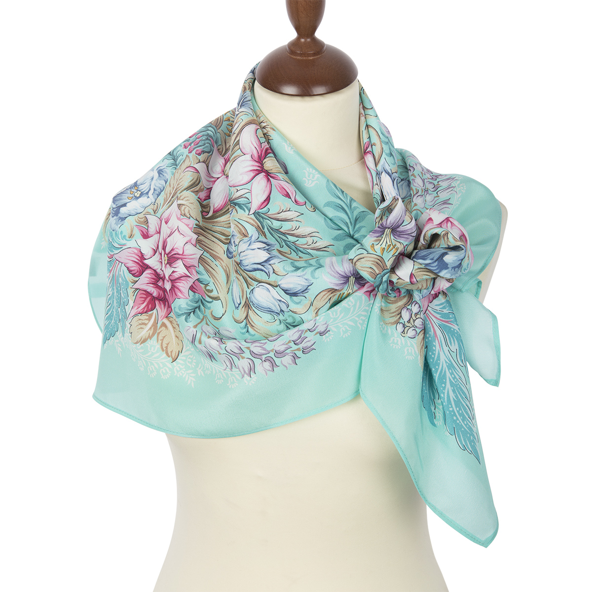 "Russian scarf ""After the rain 704-12"""