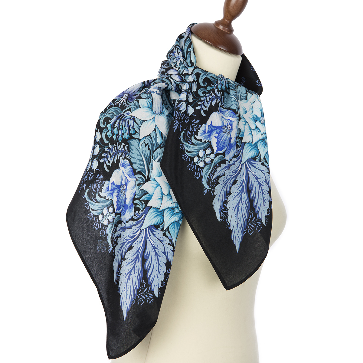 "Russian scarf ""After the rain 704-18"""