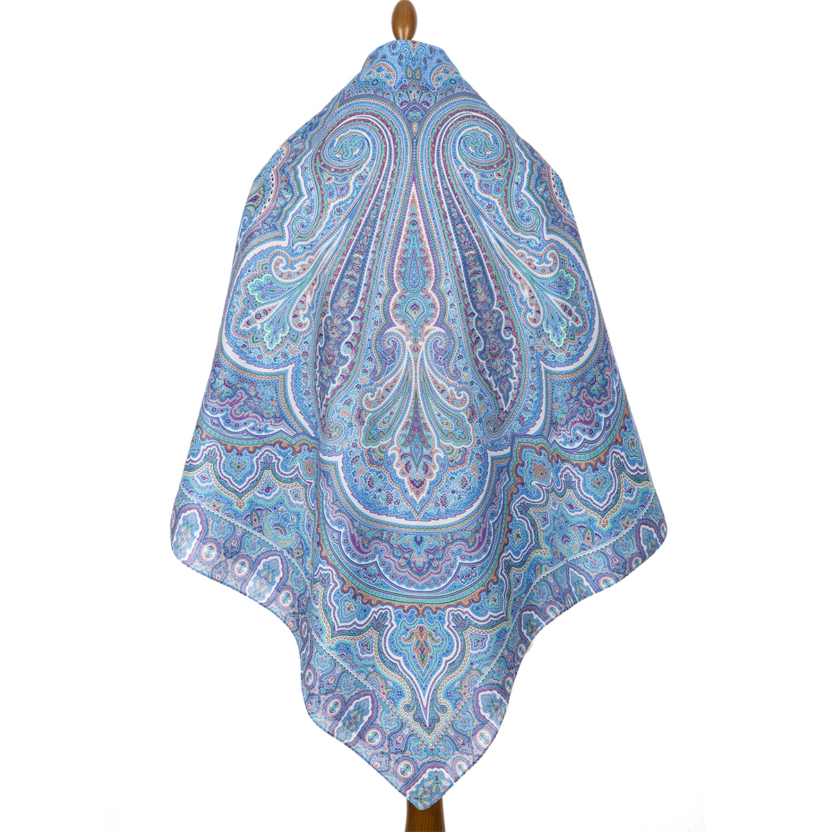 "Shawl ""Eastern travel 1566-13"""