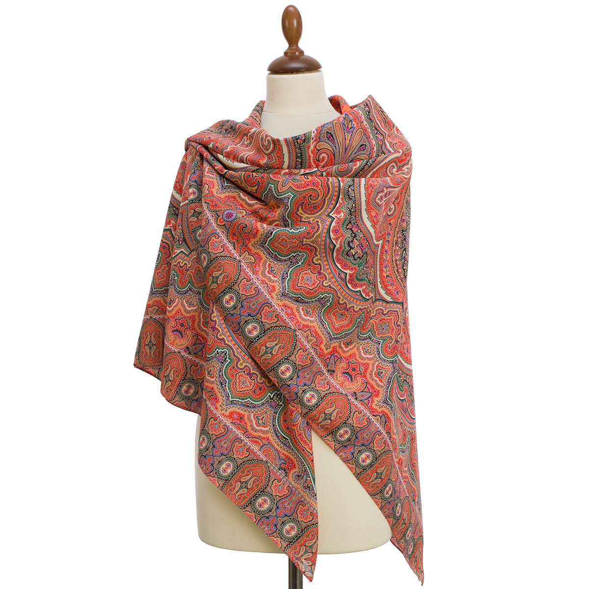 "Shawl ""Eastern travel 1566-5"""