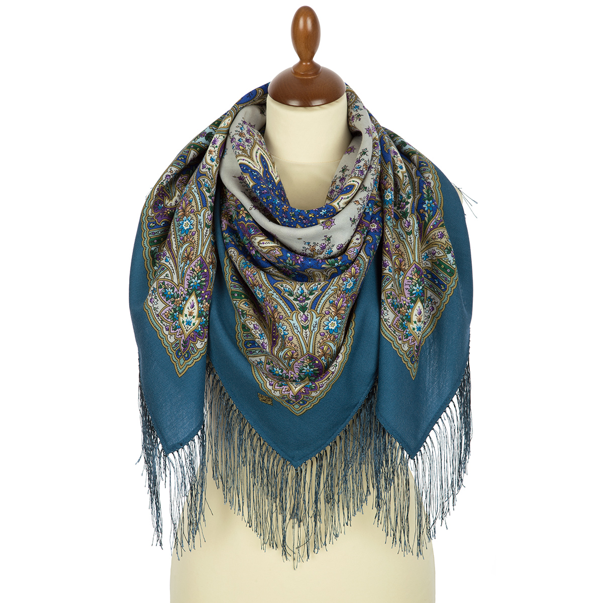 "Russian shawl ""Wild honey 1712-12"""