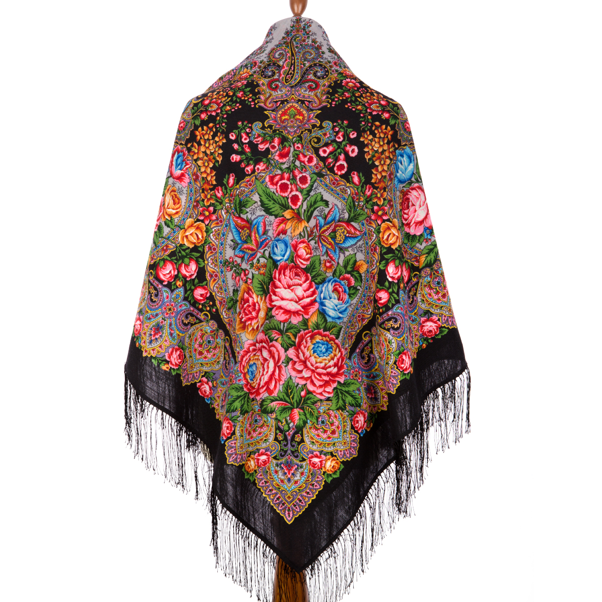 "Russian shawl ""Honey noon 1724-18"""