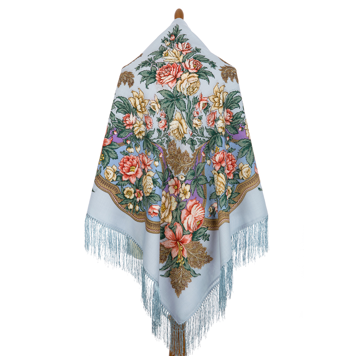 "Russian shawl ""Captivating July 1730-1"""