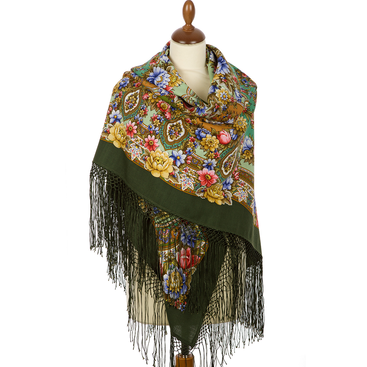 "Russian shawl ""Gold-silver 1731-10"""