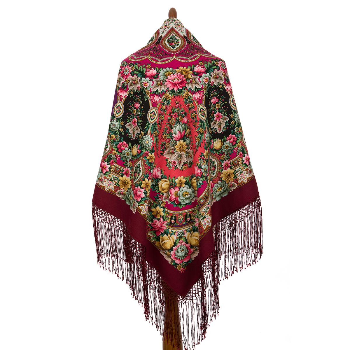 "Russian shawl ""Gold-silver 1731-6"""