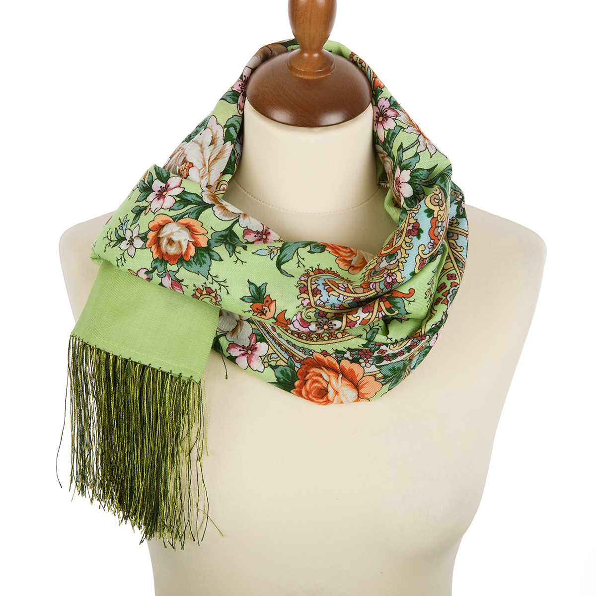 "Russian scarf ""Flower novel 1747-59"""