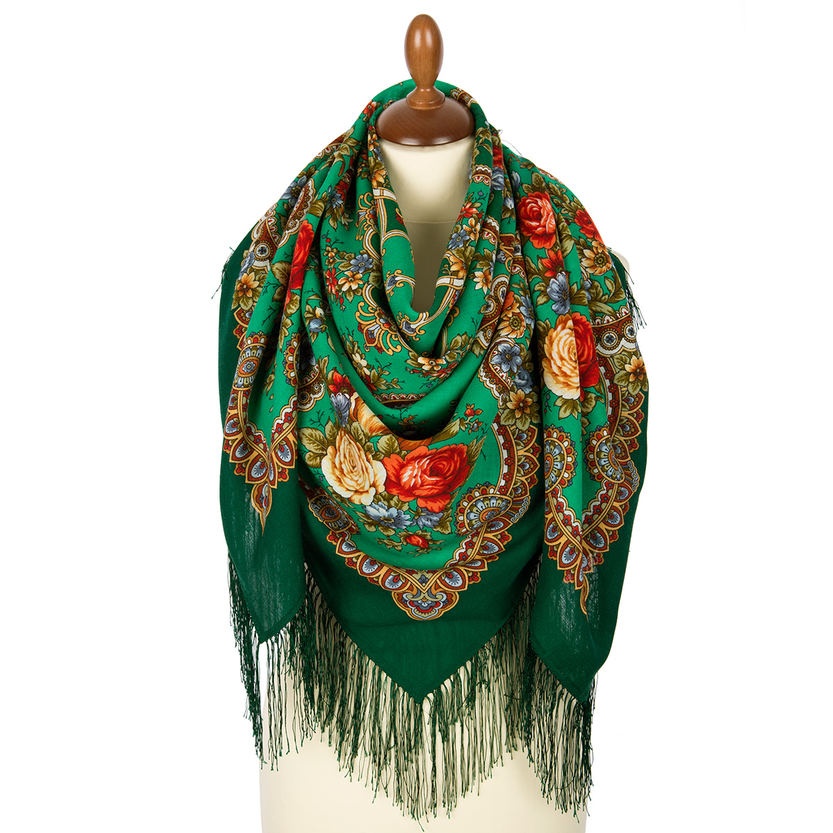 "Russian shawl ""Gentle Heart 1752-12"""