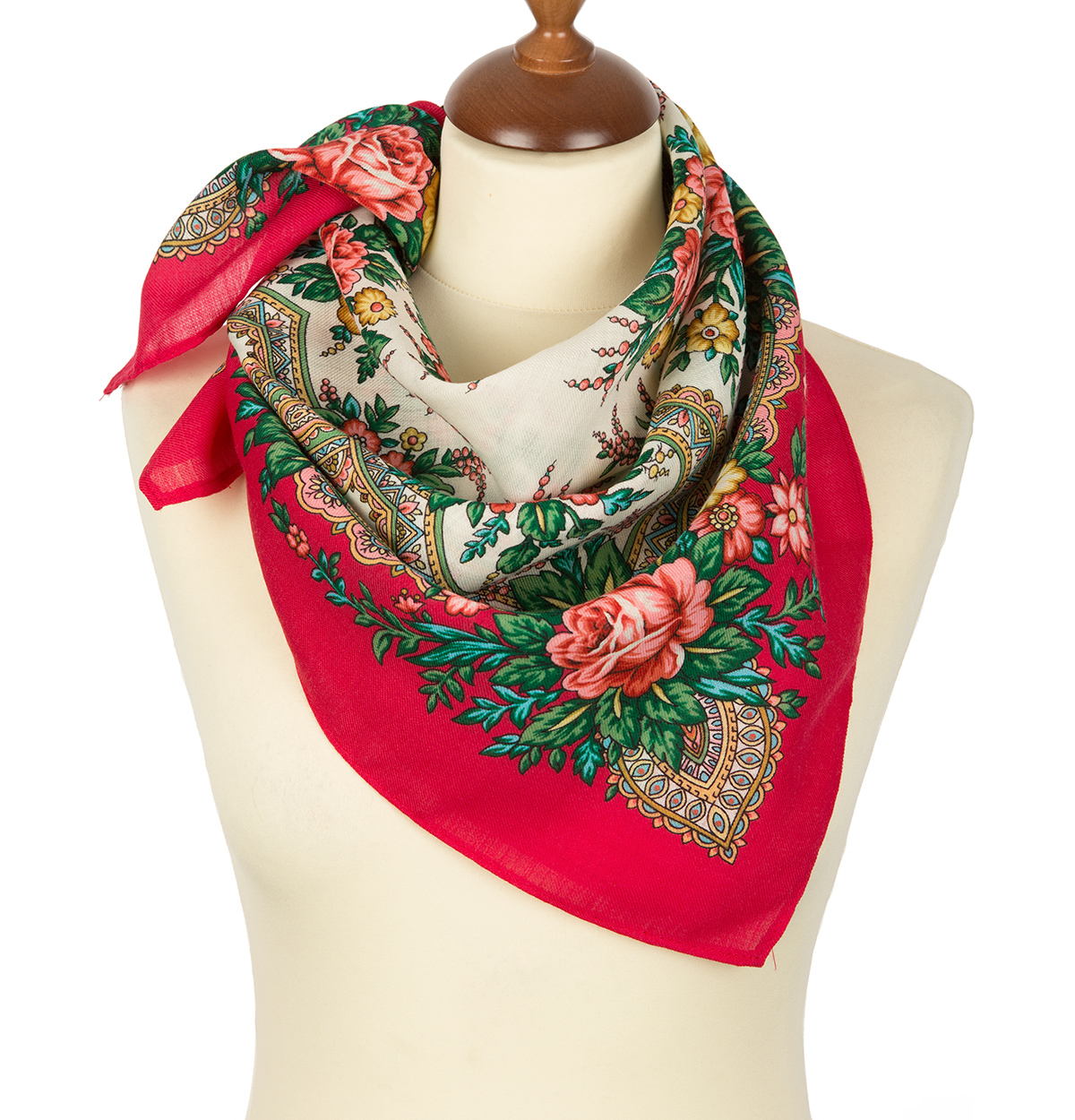 "Russian scarf ""Splashes of joy 1756-5"""
