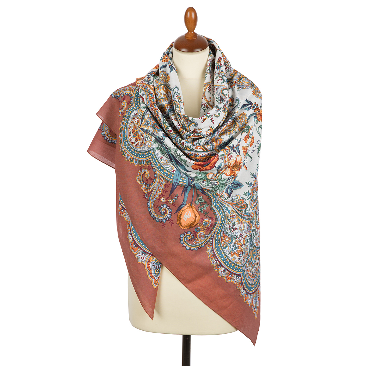 "Russian shawl ""Lidia 1758-16"""