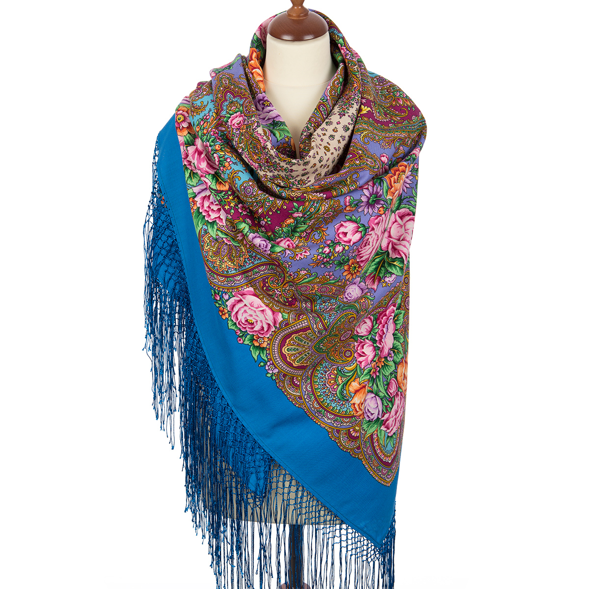 "Russian shawl ""Ordinary love 1760-13"""