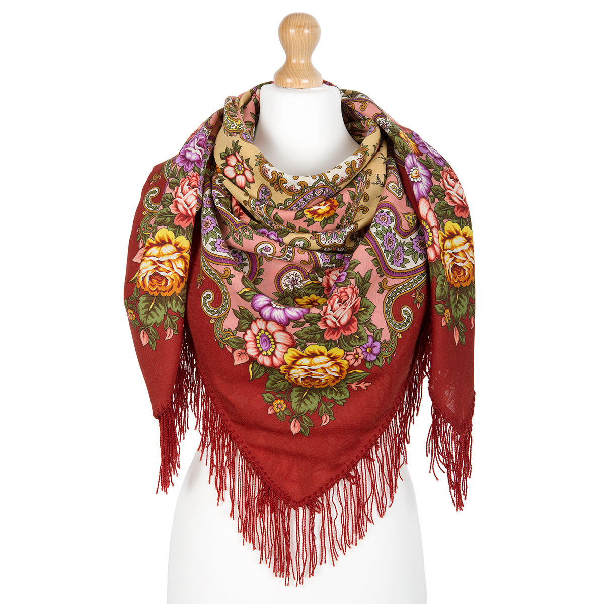 "Russian shawl ""In the Land of Wonders 1778-4"""