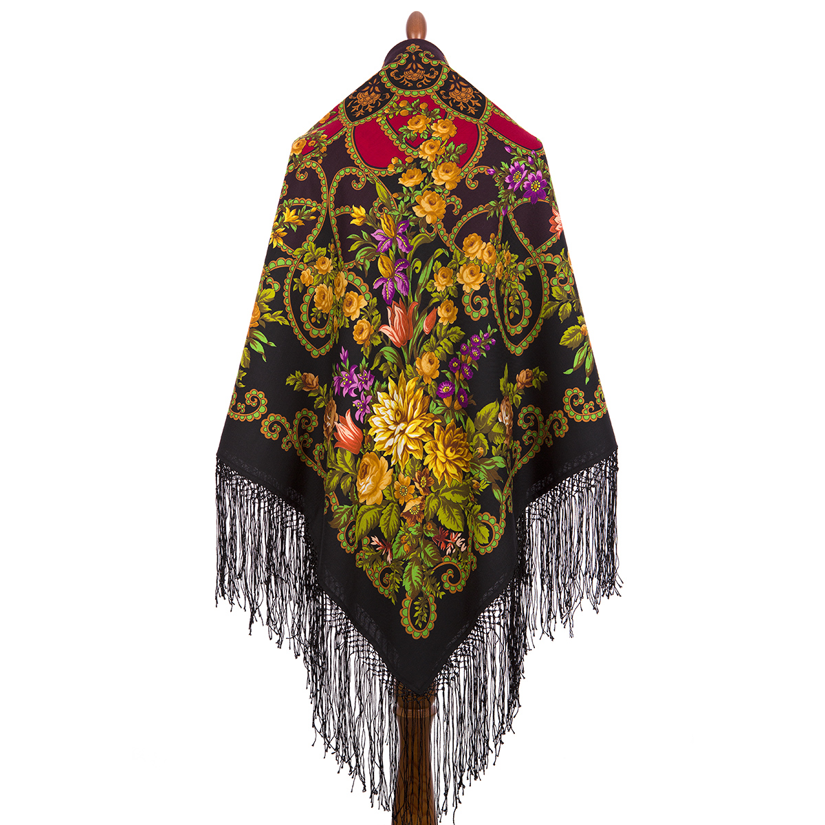 "Russian shawl ""Gypsy girl Aza 362-20"""