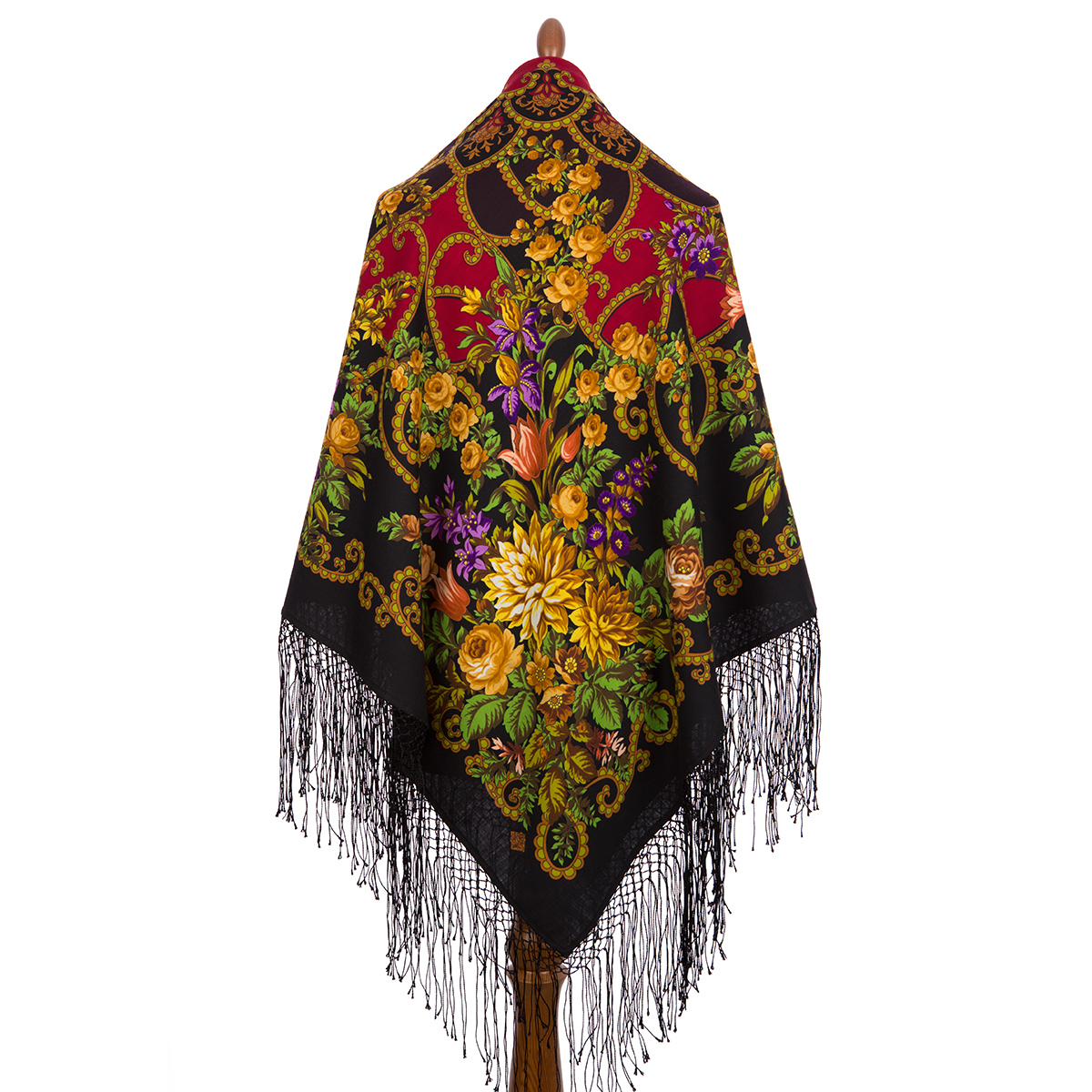 "Russian shawl ""Gypsy girl Aza 362-30"""