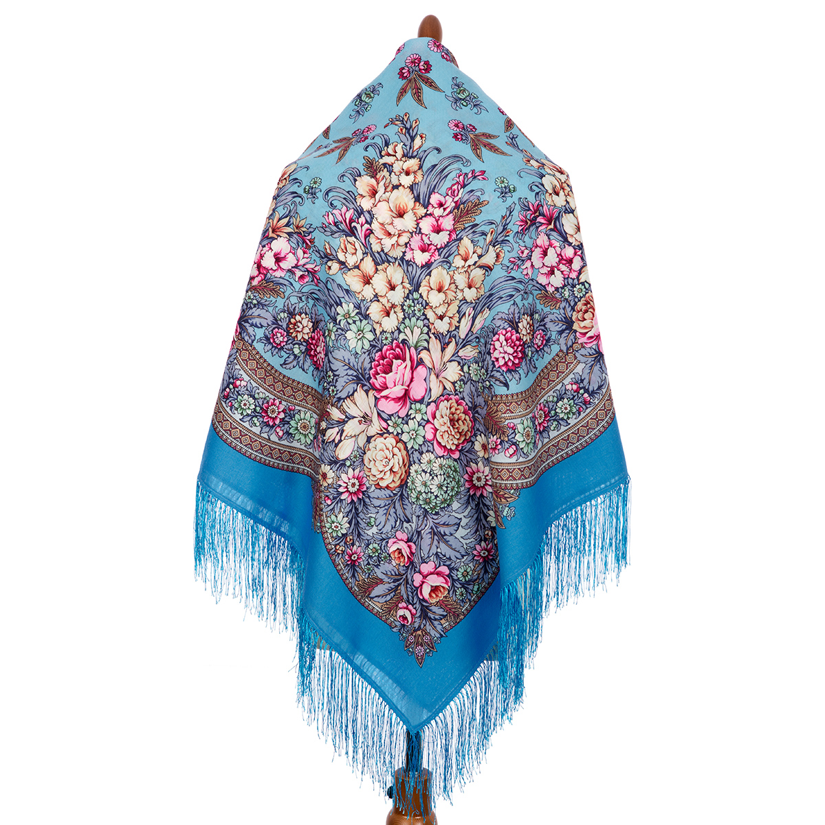 "Russian shawl ""Golden days 828-11"""