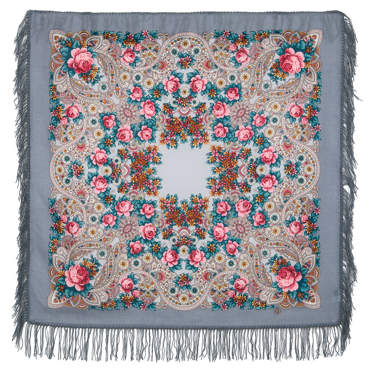 "Russian shawl ""On the wings of the wind 1690-1"""