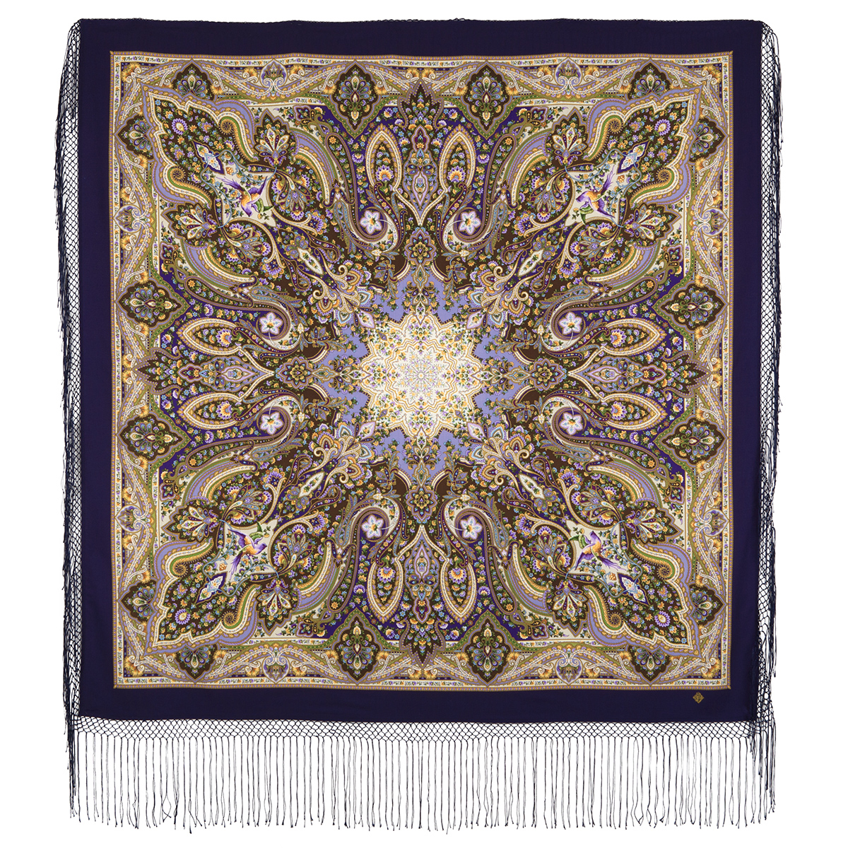 "Russian shawl ""The only 1757-15"""