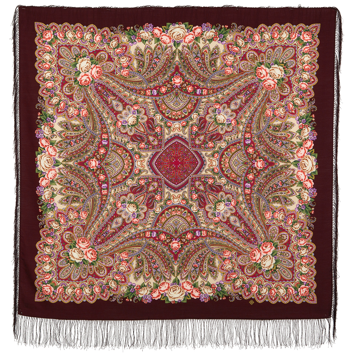 "Russian shawl ""On the wings of tenderness 1653-7"""