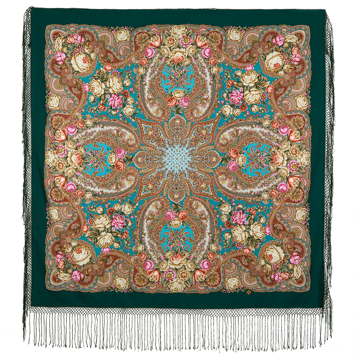 "Russian shawl ""Ordinary love 1760-12"""
