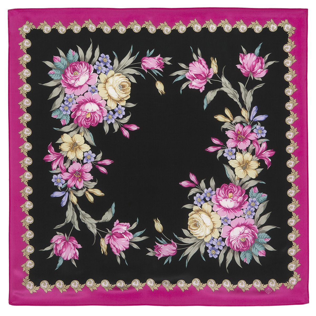 "Russian scarf ""Gentle echoes 1601-5"""