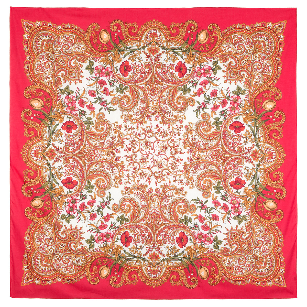 "Russian shawl ""Lidia 1758-5"""