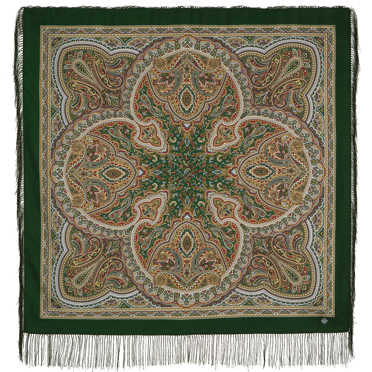 "Russian shawl ""Rain pattern 1695-10"""